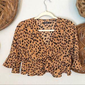 Nasty Gal Leopard Print Top 6